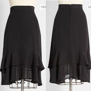 Modcloth black Aline skirt